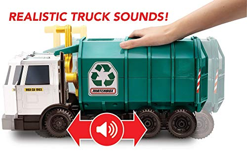 41O3gahryxL - Matchbox Garbage Truck Large [Amazon Exclusive]