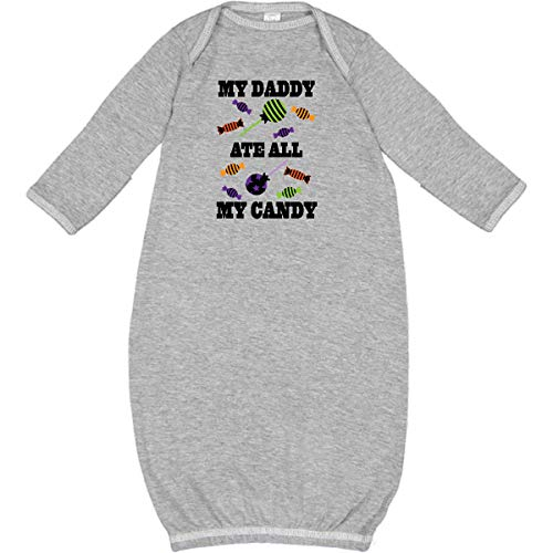 inktastic - Halloween Funny Daddy Ate My Candy Newborn Layette Heather 2bf6e]()