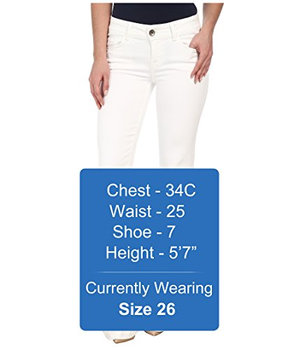J Brand Women's Love Story Flare Jeans, Blanc, 27 by J Brand Jeans (Image #5)