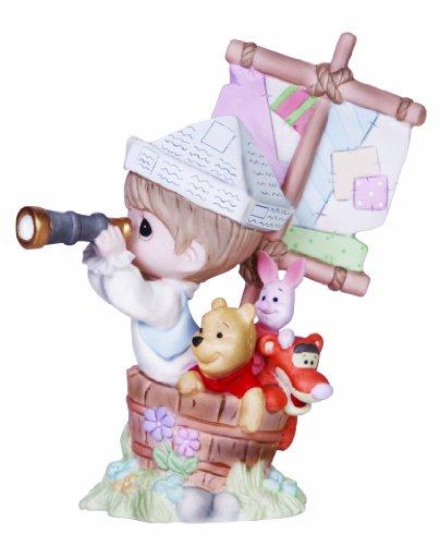Precious Moments, Disney Showcase Collection, Good Friends Never Drift Apart, Bisque Porcelain Figurine, - Disney Porcelain