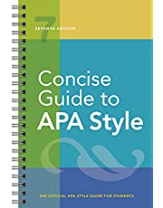 CONCISE GT APA STYLE 7/E: Seventh Edition, Official, Newest, 2020 Copyright