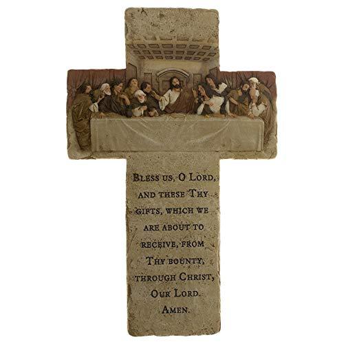 "BO001 13.25"" H Last Supper Cross"