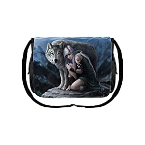 Protector Messenger Bag by Anne Stokes