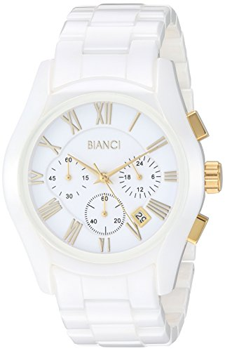 ROBERTO BIANCI WATCHES Men's Classico Quartz Watch with Ceramic Strap, White, 10 (Model: RB58761)