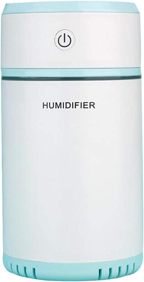 Humidificador ultrasónico,purificador de aire portátil con 7 luces ...