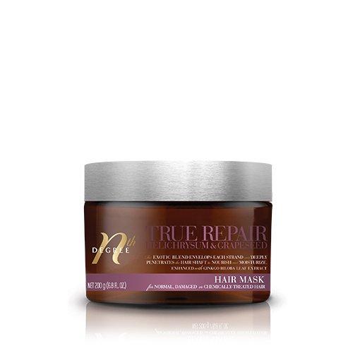 - Nth Degree True Repair Helichrysum & Grapeseed Hair Mask