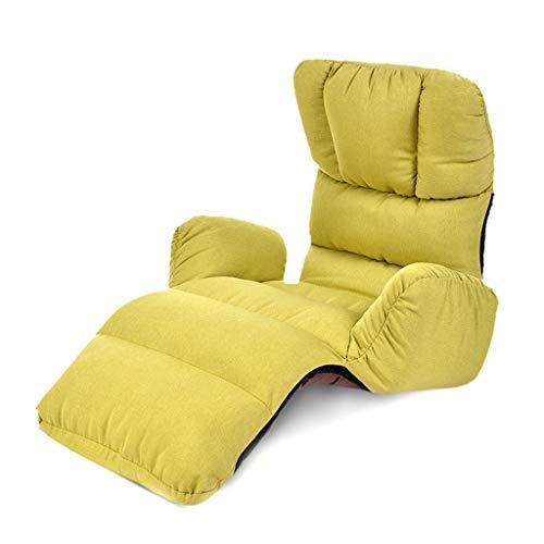 寝室怠惰なソファシングル出窓ソファベッド和風折りたたみソファリクライニングチェア多機能ラウンジチェアマルチレンジソファチェア耐荷重120キログラム B07SX5W7XK