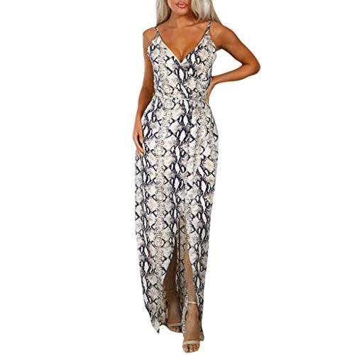 Big Sale YetouWomens Pocket Loose Dress Ladies Crew Neck Casual Long Tops Dress PlusMidi Club Party Dress Khaki