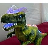 R/C Mando Distancia dinosaurio, CAMINA, Roars , luces UP. Verde
