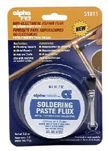Alpha Fry AM51011 Soldering Paste Flux & Brush