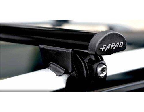 BARRE PORTATUTTO FARAD ACCIAIO CITROEN C4 GRAND PICASSO 2006-2013 CON RAILING