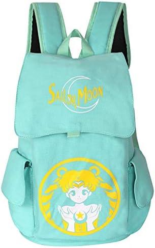Innturt Anime Canvas Backpack Rucksack Bag School Backpack DBZ Dark Blue