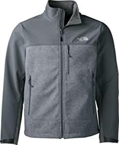 The North Face Apex Bionic Jacket Men's High Rise Grey Heather/Vanadis Grey S by The North Face