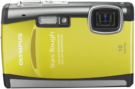 Olympus Stylus 6000 10MP Digital Camera with 3.6x Wide Angle Optical Dual Image Stabilized Zoom and 2.7-inch LCD Yellow
