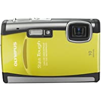 Olympus Stylus 6000 10MP Digital Camera with 3.6x Wide Angle Optical Dual Image Stabilized Zoom and 2.7-inch LCD (Yellow) Basic Facts Review Image