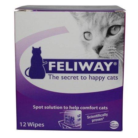 Feliway Adaptil Cat Comfort Wipes, 12 Ct