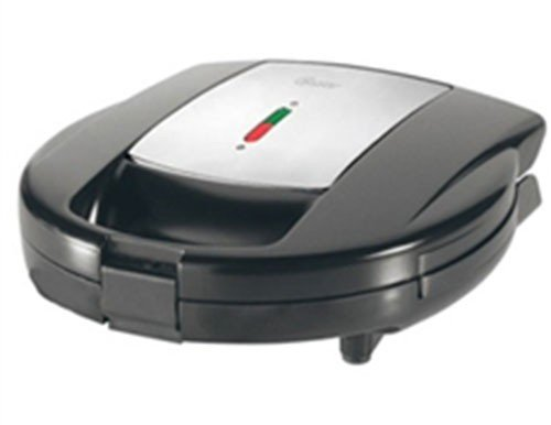 Oster CKSTSM3891 2-Slice Sandwich Maker, 220 Volts (Not for USA)