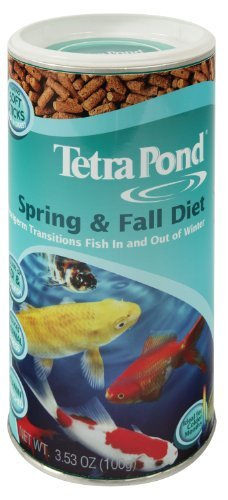 Tetra Pond 16467 7.05 Oz Spring & Fall Diet Pond Fish Food