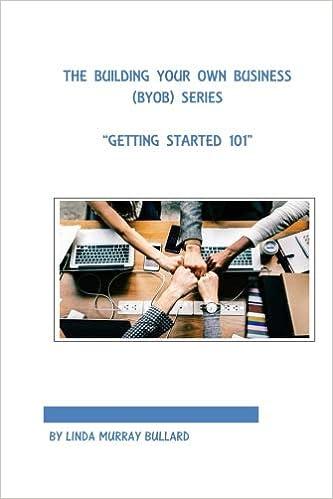 96b97a19436 The Building Your Own Business (BYOB) Series  Getting Started 101 (Volume  1)  Linda Murray Bullard  9781722460976  Amazon.com  Books