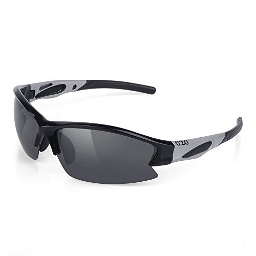 O2O Polarized Sports Sunglasses [Superlight Weight] Designer All Sports [Tr90 Frame] [Comfortable and Fit] for Running Driving Baseball Golf Hiking Cycling Fishing Men Women Teens - Proof Polarized Scratch Sunglasses