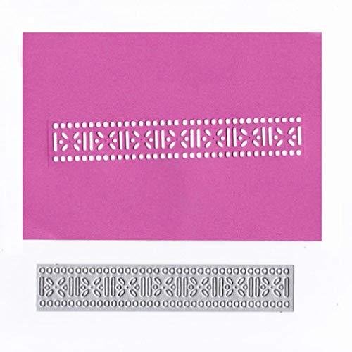 Cutting Dies Christmas, Lacework Tooling Metal Cutting Dies Card Making Scrapbooking Stencils Album Paper Card Craft Embossing DIY Decorative Background
