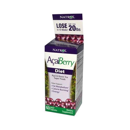 Natrol AcaiBerry Diet - 60 Capsules - Natrol