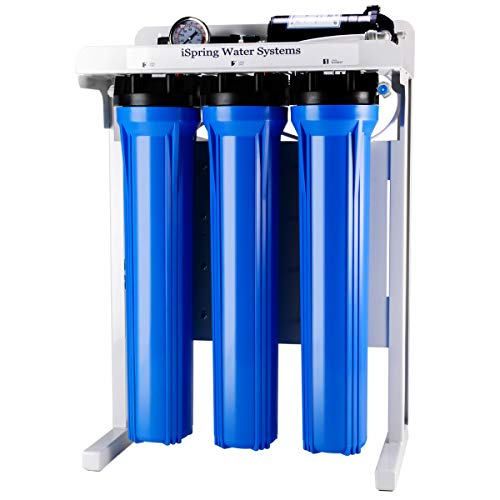 iSpring RCB3P 300 GPD Light Commercial Reverse Osmosis RO Water