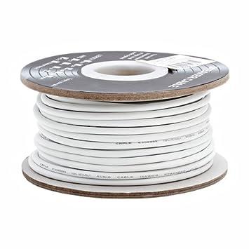 Calibre 18 2-conductor Cable de altavoz (Bobina de 100 Pies en la pared
