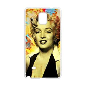 Marilyn Monroe SANDY0057511 Phone Back Case Customized Art Print Design Hard Shell Protection Samsung galaxy note 4 N9100