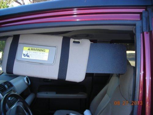 1 Pair 6x13 Black Only Visormates to Fit Honda Element  8b8109011bf