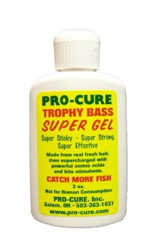 Pro Cure Trophy Bass Super Gel, 2 Ounce