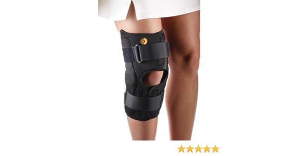 Corflex Anterior Closure Knee Wrap w/Hinge-3XL-13-3/16-Op Pop Activewear Opening Behind Knee Accessories