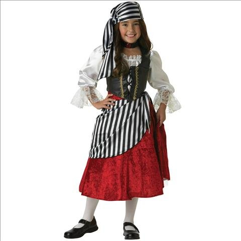 Pirate Girl Elite Collection Child Halloween Costumes - Pirate Girl Elite Collection Child Costume,