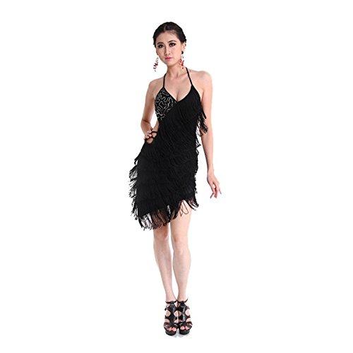 Pilot-Trade Women s Latin Rhythm Salsa Ballroom Dance Dress Competition  Costume 912897f51
