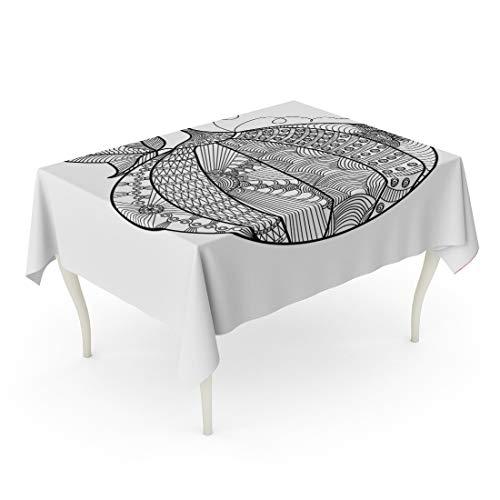 Tarolo Rectangle Tablecloth 60 x 90 Inch Fall