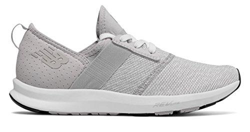 製油所かすれた繊維(ニューバランス) New Balance 靴?シューズ レディーストレーニング FuelCore NERGIZE Overcast with White ホワイト US 6 (23cm)