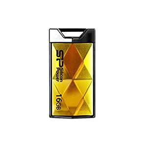 Silicon Power 16GB Touch 850 16GB USB 2.0 Oro unidad flash USB - Memoria USB (USB 2.0, Type-A, Windows 2000, Windows 2000 Professional, Windows 7 Home Premium, Windows 7 Professional, Windows 7 S, Mac OS 9.0, Mac OS 9.1, Mac OS 9.2, Slide, Oro)