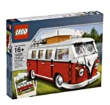 volkswagen camper lego - Lego 10220 Volkswagen T1 - Camper Van Camping Bulli VW Bus by LEGO
