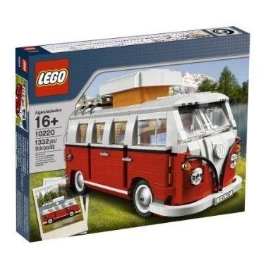 Lego 10220 Volkswagen T1 - Camper Van Camping Bulli VW Bus by LEGO (Van Lego Vw)