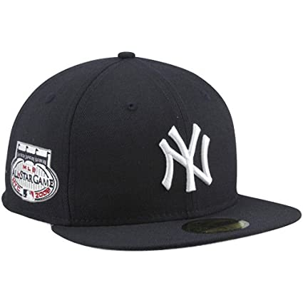 super popular 544c8 34865 MLB New Era New York Yankees 2008 Cooperstown All-Star Patch 59FIFTY Fitted  Hat -
