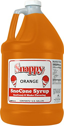 Snappy Popcorn Snappy Snow Cone Syrup 128 Fl. Oz, ()