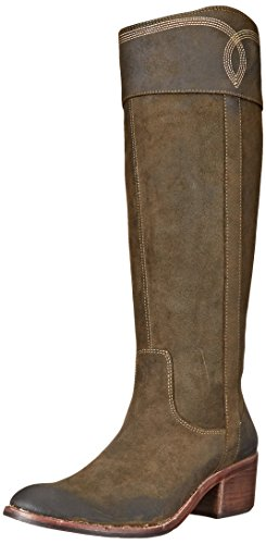 Boot Western Loden Pliner J HV Women's Suede Willi Donald SAxPpqY1wR