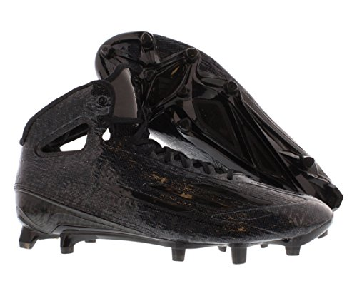 Adidas Hommes Adizero 5 Étoiles 4.0 Mi Chaussures De Football Noir