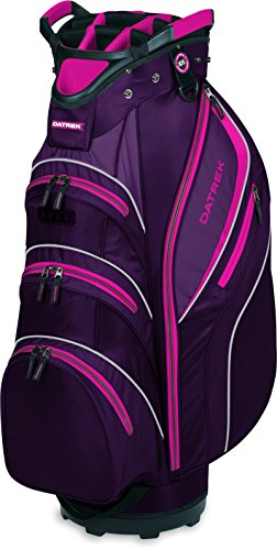 Golf Womens Bag - Datrek Golf Lite Rider II Cart Bag (Purple/Pink/White)