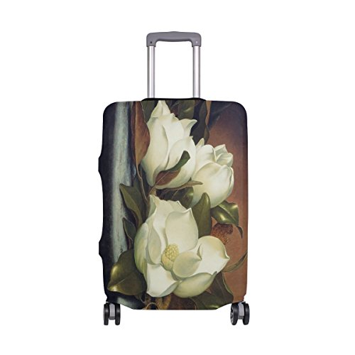 imobaby Giant Magnolias Travel Luggage Covers Suitcase Protector Fits 29-32 - Giant Magnolias