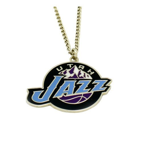 NBA Utah Jazz Team Logo Necklace ()