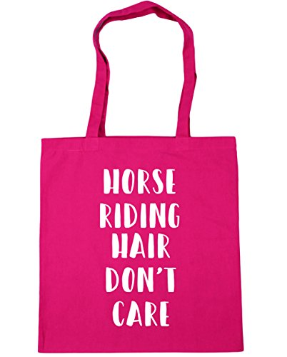 10 Bag Beach Riding HippoWarehouse Hair 42cm Fuchsia Gym litres Don't Tote Shopping Horse Care x38cm w7zqwr18