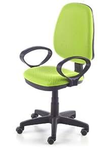 Silla de oficina silla escritorio tapizado 3D color verde