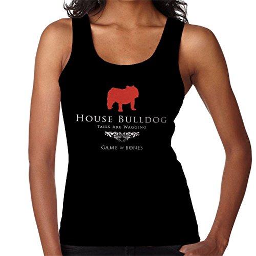 Thrones Inspired Vest Game House Women's Bulldog of qPSn1t