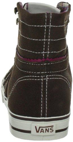 Vans Corrie Hi VKWL67J - Zapatillas clásicas de ante para mujer Marrón